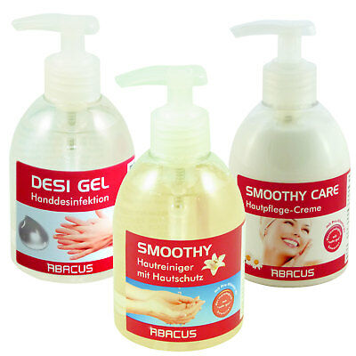 HAUTPFLEGE SET - 1x 300 ml SMOOTHY Handseife & 1x 300 ml SMOOTHY CARE Handpflege