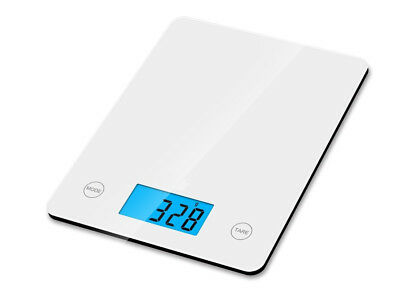 Digital Kitchen Scales 5000g Black / White LCD Electronic Cooking Food Weight UK