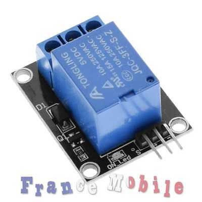 Carte 1 Relais 5V 10A Module Relay 1 Channel pour Arduino PIC ARM AVR DSP