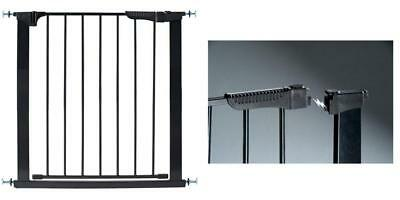 Kidco G1201 Auto Close Gateway Pressure Mount Safety Gate In Black