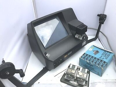 Prinz Oxford 1200 Cine Film Editor & Soligor Splicer Super 8 and 8mm film