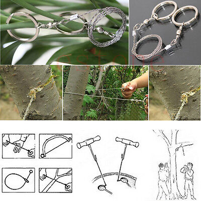 Hot Sale Steel Wire Hand Chain Saw Emergency Survival Climbing Outdoor Gear New