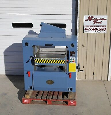 "Oliver 25"" 4470 Wood Planer 15 Hp 3 Ph Helical Head Digital Control"
