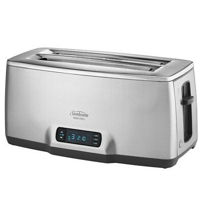 NEW Sunbeam Maestro 4 Slice Toaster with Countdown Timer