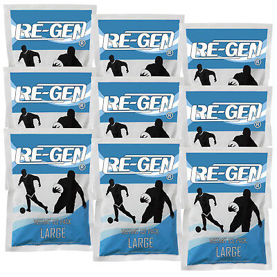 9 Pack - CMS Medical Professional Sports Instant Freeze Injury Ice Packs Large