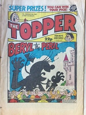 Box K Comic Topper No 1788 May 9th 1987