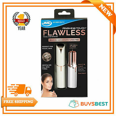 JML Finishing Touch Flawless The Gold-Plated, Discreet Hair Remover - A000116