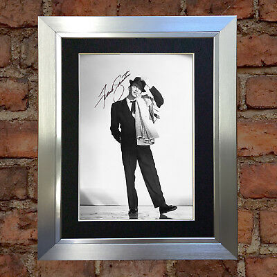 #38 FRANK SINATRA A5 Signed Reproduction Autograph Mounted Print