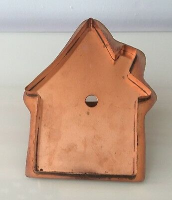 Martha Stewart By Mail Copper Cookie Cutter - Little House