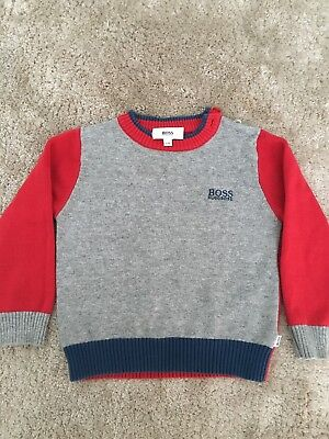 Baby Boy Hugo Boss Jumper Size 2