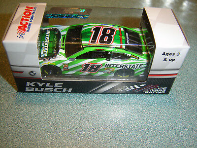 #18 Kyle Busch 2018 INTERSTATE BATTERIES TOYOTA 1/64 ACTION FREE SHIP IN STOCK