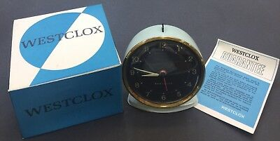 Vintage Westclox Alarm Clock, Mechanical, Scotland, New Old Stock RRP £24.99