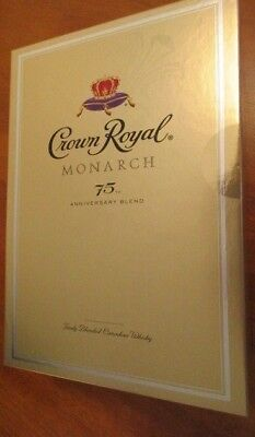Sealed Crown Royal Monarch 75th Anniversary Edition Box