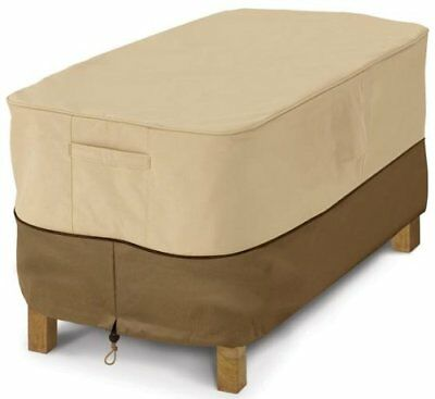 Classic Accessories Veranda Patio Coffee Table Cover - Durable and Water