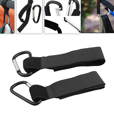 Shopping Bag Hooks For Buggy Pram Pushchair Stroller Clips Hand Carry one