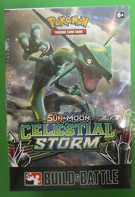 Pokemon Sun & Moon Celestial Storm Build & Battle Prerelease Kit SEALED