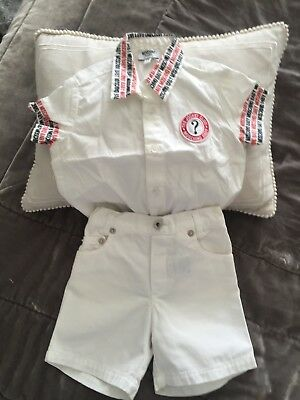 Moschino Baby Short And Shirt Set Age 6 Months
