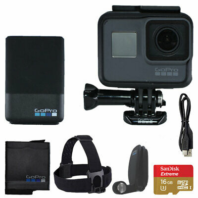 GoPro HERO5 Black Edition Action Camera/Camcorder Bundle - Great, Top Value Deal