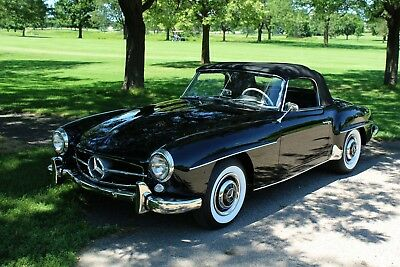 1960 Mercedes-Benz 190-Series  1960 Mercedes 190 SL Matching numbers frame off restoration just completed.
