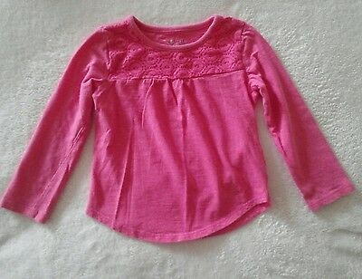 Jumping Beans Pink Top Girls Size 3T