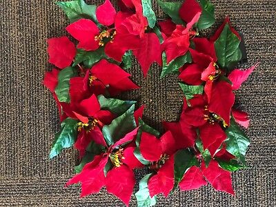 Christmas Wreath Light up red and green wreath - NEW
