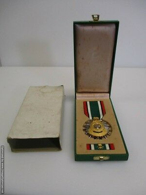 Gulf War Liberation of Kuwait Medal Ribbon w Slip Case Kingdom of Saudi Arabia