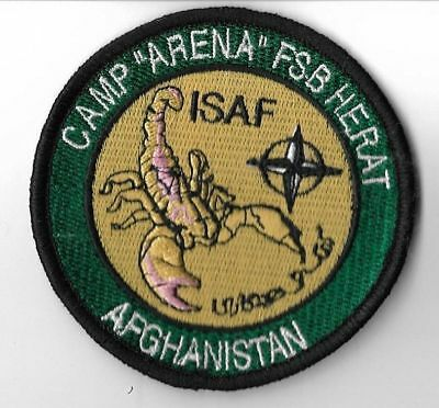 Patch Spain Embroidered Ejercito Del Aire Isaf Camp Arena Fsb Afghanistan Nato