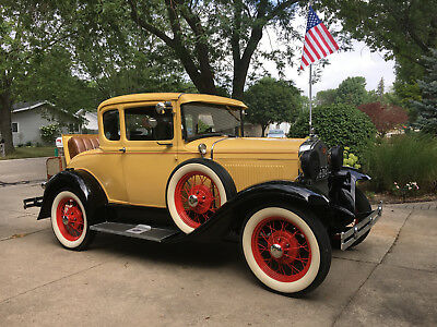 1930 Ford Model A Coupe with Rumbleseat Great Quality Antique Model A 1930 Ford Coupe with Rumbleseat