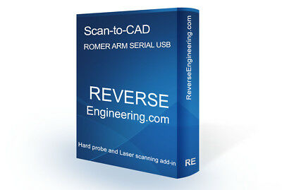 ROMER ARM SOFTWARE  addin for Solidworks 2018 SCAN-TO-CAD