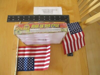 Fireworks Firecracker Rise in the East Box 10 pc label per rules