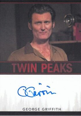 Twin Peaks (2018) - George Griffith Ray Monroe Autograph Limited Event Series L