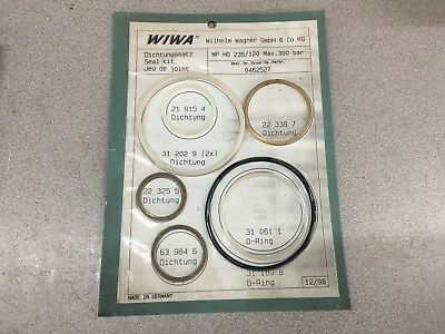 New In Package Wiwa Seal Kit 0462527