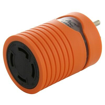 Compact Generator Adapter NEMA 5-15P to NEMA L14-30R by AC WORKS™