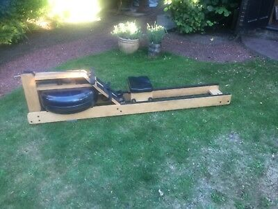 WaterRower limited edition oak Rowing Machine With s4 monitor