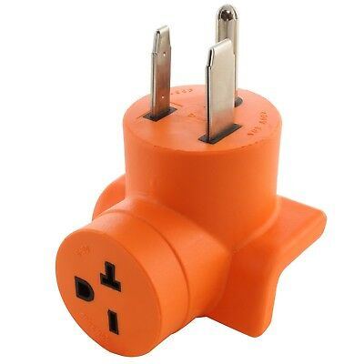 Compact Welder Outlet Adapter NEMA 6-50P to NEMA 6-20R by AC WORKS™