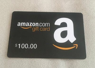 Amazon 100 Gift Card New Unused And Verified Free Shipping