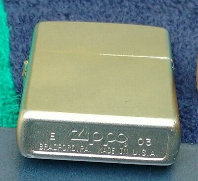 Zippo Street Chrome Finish Lighter, Regular, Genuine USA Windproof #207