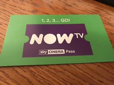 NOW TV 1 MONTH SKY CINEMA PASS INSTANT DELIVERY ( NOT promo code)