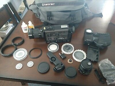 Canon 1014 XL-S Super 8 8mm Movie Camera Canon 1014 xl s w Tamrac Bag and Filter