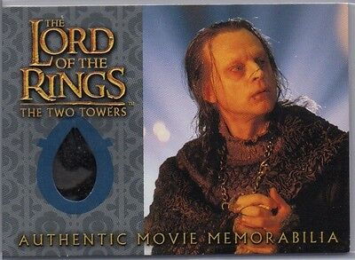 Lord of the Rings The Two Towers Update Wormtongue's Underfrock Card *Free S/H*