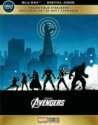 The Avengers  - Limited Steelbook [Blu-ray] New!!