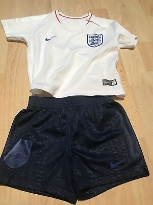 Baby Boys England Football Kit Clothes Nike 9-12 Months Worn Once