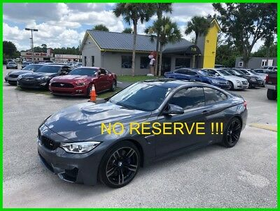 BMW M4 Coupe 2016 BMW M4 COUPE ONLY 21K MILES IMMACULATE FLORIDA CARFAX NO RESERVE!