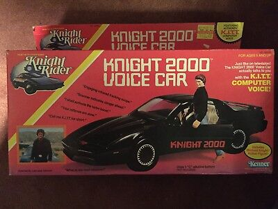 Knight Rider Kenner 1983 Knight 2000 Voice Car -New Original BOX