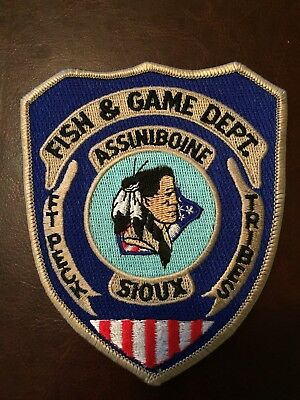 Sioux Tribal Fish And Wildlife Warden Patch