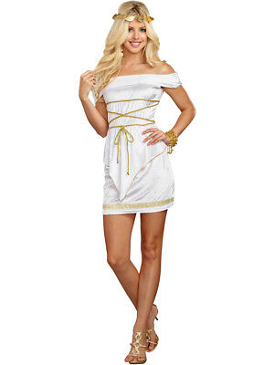 Adult's Womens Lustful Ancient Greek Goddess Beauty Costume