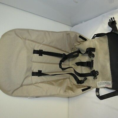 Bugaboo Cameleon Baby Child Stroller Seat Unit Beige Harness Replacement Parts