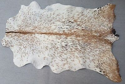Goathide Western taxidermy Rug Cow Natural Pattern Fur Goat Skin MB-1820