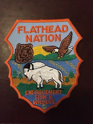 Flathead Nation Game Warden Patch