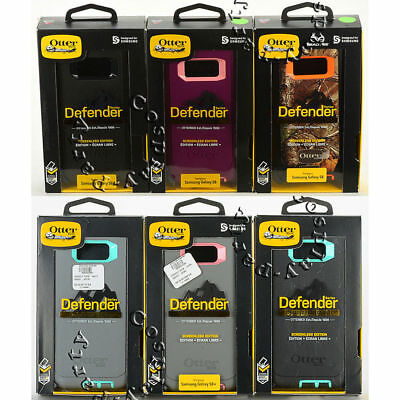 new product 3c65d 9ed5d OTTERBOX DEFENDER SAMSUNG Galaxy S8 & Samsung Galaxy S8+ Plus Case w/Belt  Clip